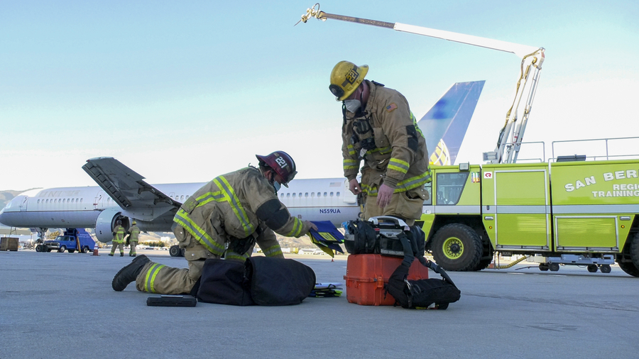 SBD International Airport Successfully Conducts Full-Scale Emergency Drill