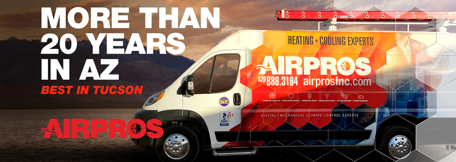 Air Conditioning Repair Service, Air Pros, Expands Into Green Valley, Arizona To Serve the Massive Population Growth in Southern Pima County