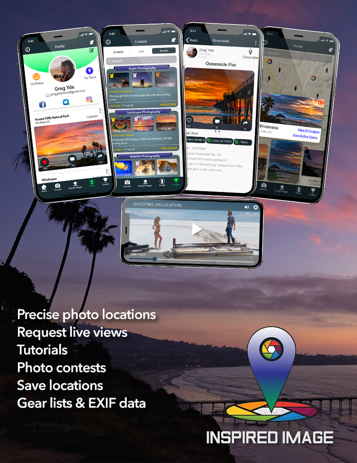 Inspired Image is a New App for Photographers, Explorers, Travelers, Anglers, Hunters, and Many More