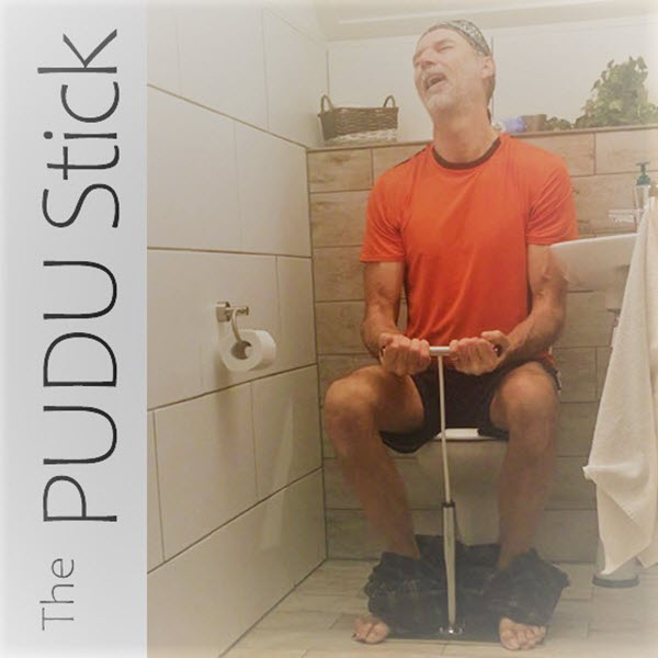 Lockdown Innovation: Pull This to Poop Better… Less Constipation & Fewer Hemorrhoids!