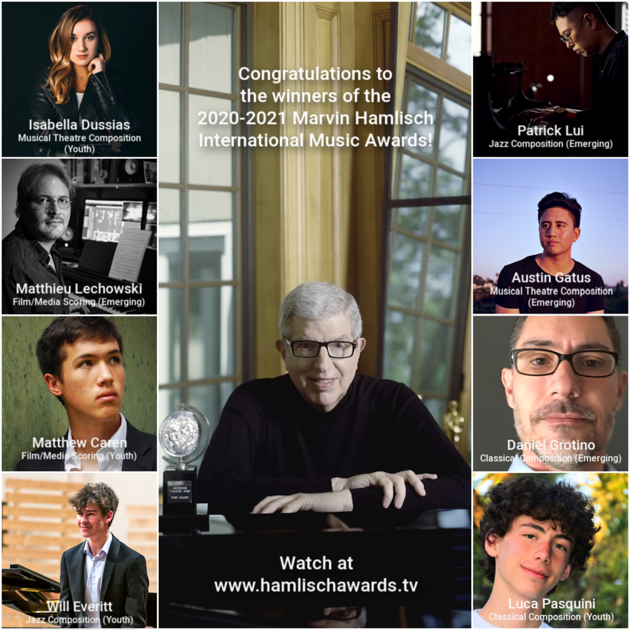 Marvin Hamlisch International Music Awards Announces 2020-2021 Winners
