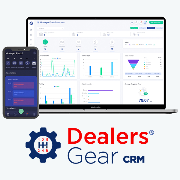 DealersGear Announces Launch of New Automotive CRM, DealersGear CRM
