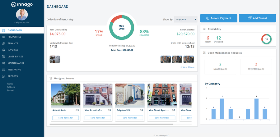 The American Apartment Owners Association Names Innago It's Exclusive, Recommended Property Management Software