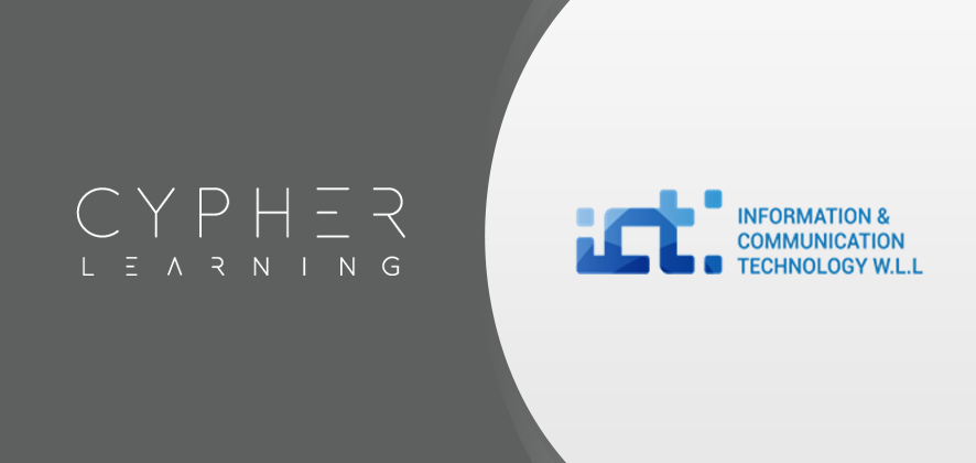 CYPHER LEARNING Inc. and ICT W.L.L. Announce a Strategic Regional Partnership to Provide Innovative Learning Solutions in Qatar and the Middle East