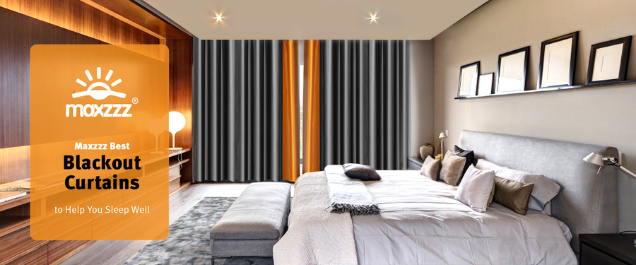Maxzzz Best Blackout Curtains to Help You Sleep Well
