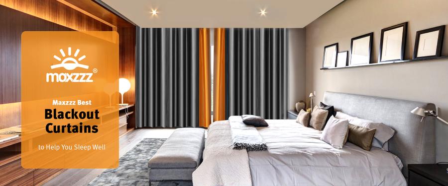 Maxzzz Best Blackout Curtains to Help You Sleep Well