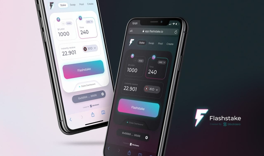 Flashstake | An Upfront Yield Protocol powered by Time