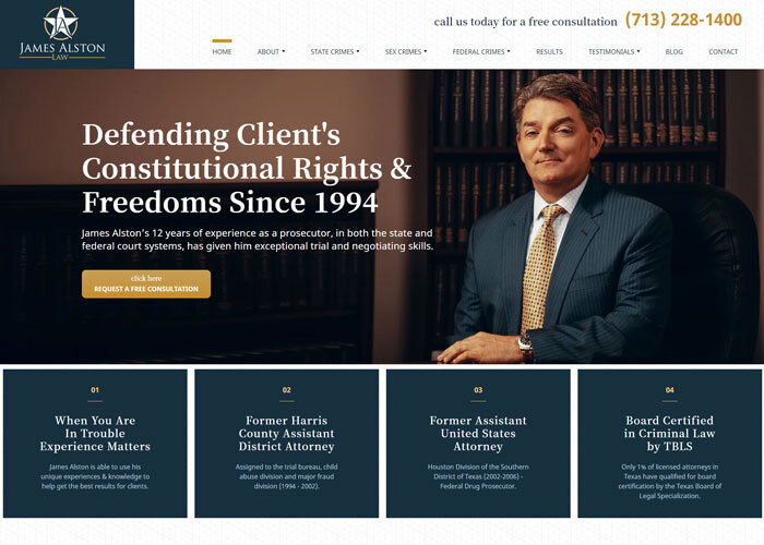 James Alston – 2 Decades and Counting Of Defending Client's Rights