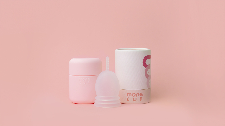 "The World's First Customizable Menstrual Cup ""MORECUP"""