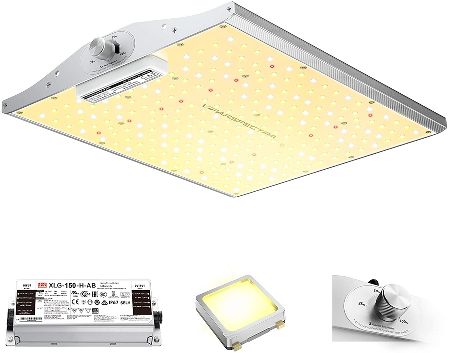 ViparSpectra XS Series Grow Lights: The Ultimate Combination of Design, Power and Value