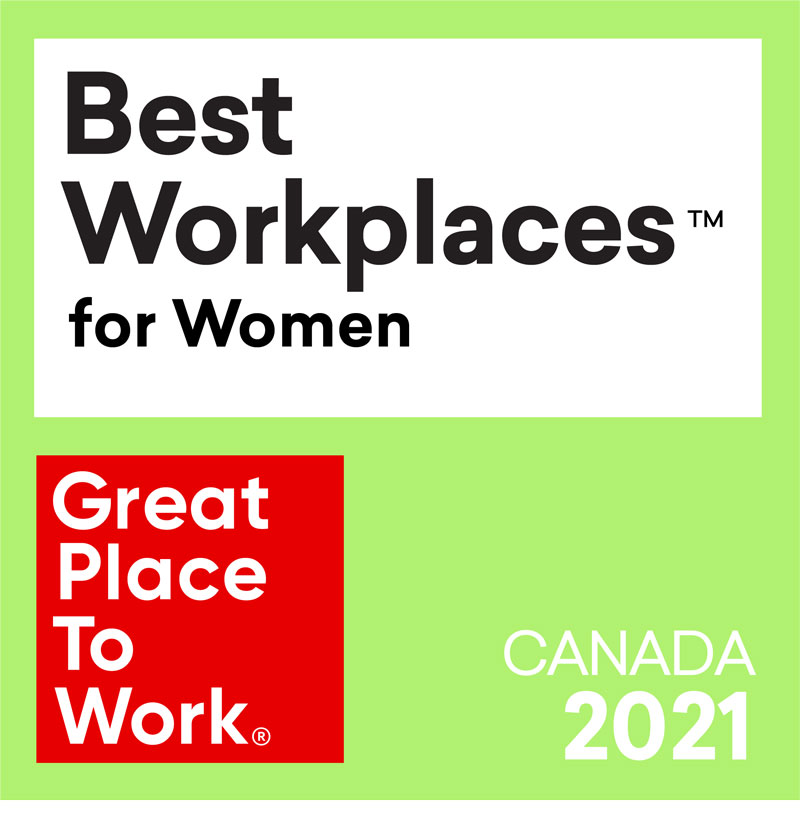 Scribendi Proves Commitment to Being a 2021 Best Workplace™ for Women