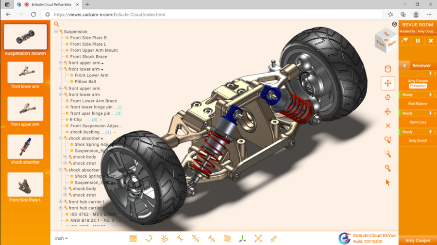CCE's 3D Collaboration Software EnSuite-Cloud ReVue comes out of Beta