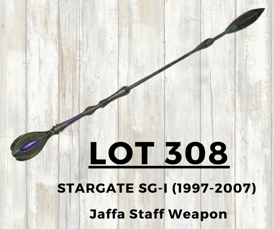 Stargate SG-1 Gaters Finally Get an Opportunity to own the coveted Jaffa Staff Weapon