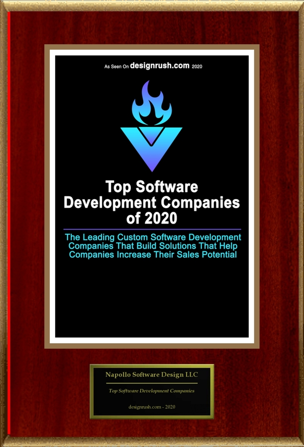 "Napollo Software Design LLC Selected For ""Top Software Development Companies"""