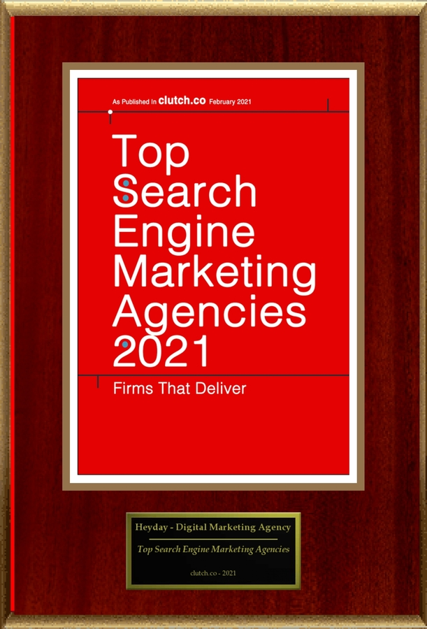 "Heyday – Digital Marketing Agency Selected For ""Top Search Engine Marketing Agencies 2021"""