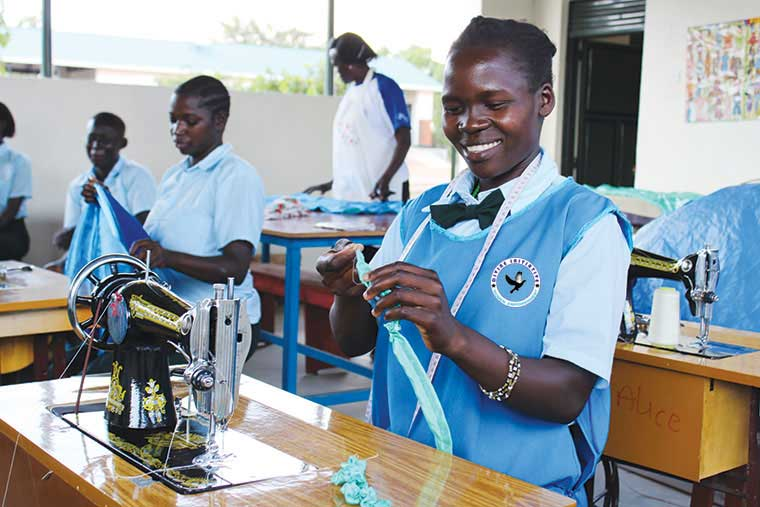 Divine Initiative Donates School Equipment to Students in Need