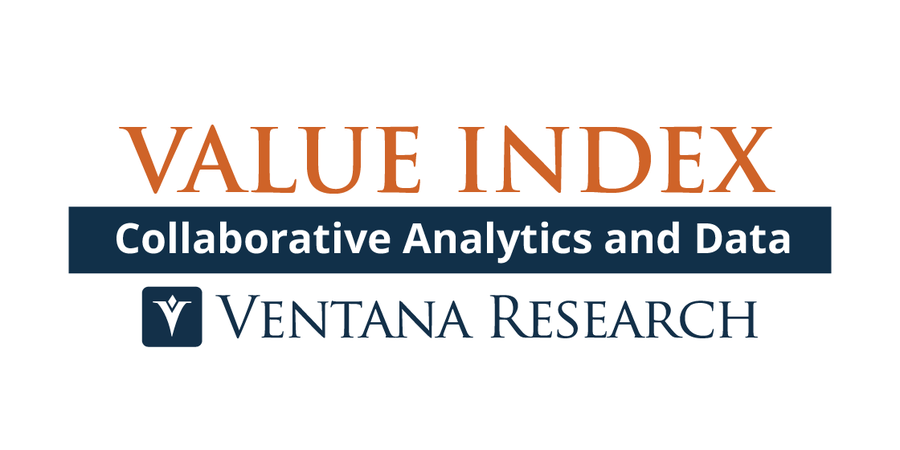 Ventana Research Releases Collaborative Analytics and Data Value Index