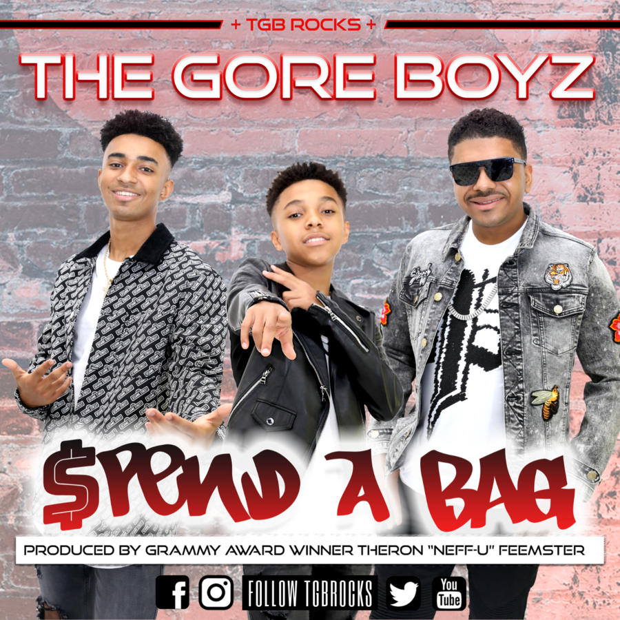 The Gore Boyz (TGB) 'SPEND A BAG' #1 Song On The DRT Global Indie Chart #1 What's In-Store Music Chart, #1 Upcoming 100, #1 Radio Airplay Experts Rap Mixshow Chart