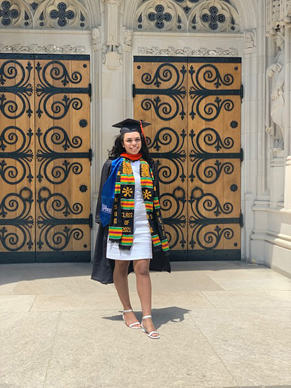 Former Homeless Valedictorian earns a Bachelor of Science at Duke University