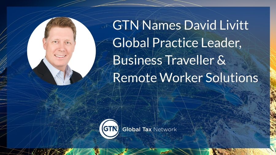 GTN Names David Livitt Global Practice Leader, Business Traveller & Remote Worker Solutions