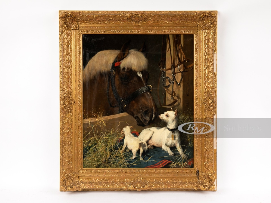 DFW Elite Toy Museum to Auction Antique Dog Art, Dog Collectibles and Dog-themed Antique Toys