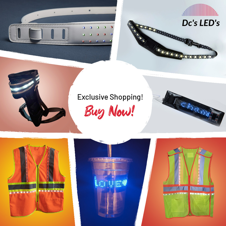 Exclusive DC's LEDs Products That Make You Visible