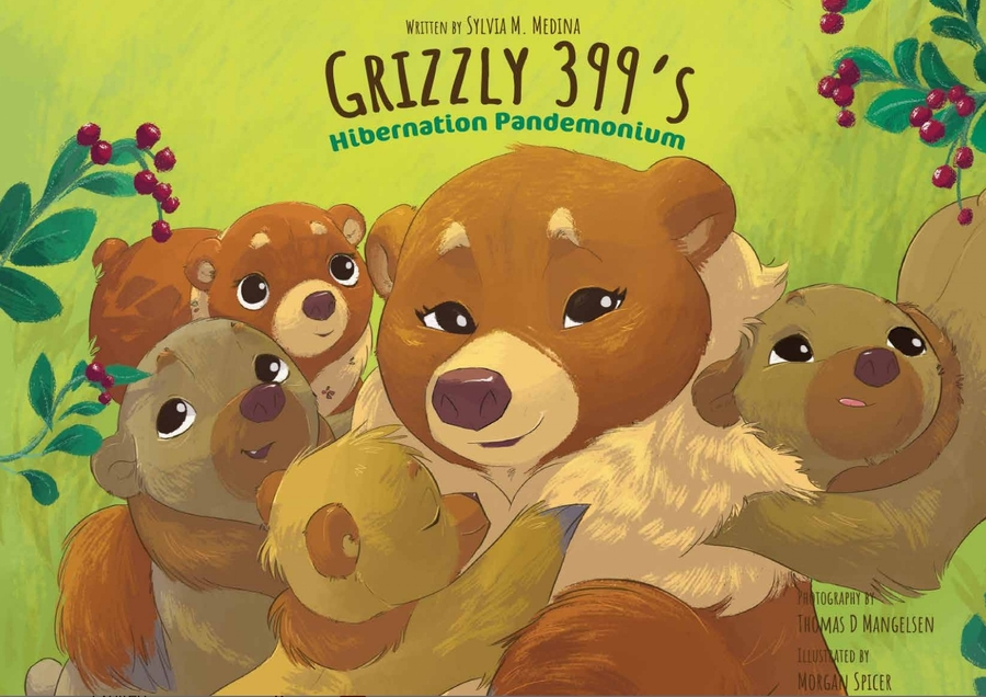 Award-Winning Publisher Green Kids Club Releases New Book: Grizzly 399's Hibernation Pandemonium
