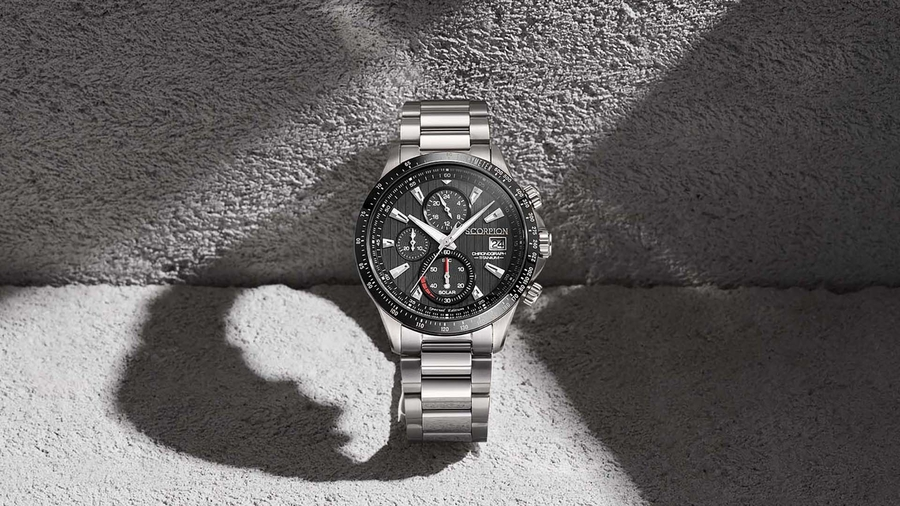 The Light-Charged All Titanium Watch