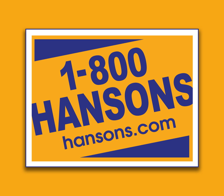 1-800-HANSONS Your Trusted Home Improvement Expert for a Lifetime