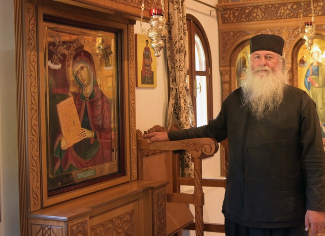 In Harmony with United Nations World Bee Day, May 20, 2021, the distinguished Hieromonk Father George Alevras of Mt. Athos, Greece Blesses the Beekeepers of the World