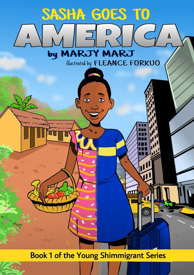 Social Issues Author – Marjy Marj, Writes Children's Book on Immigration