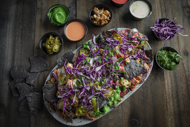 Ori'Zaba's Scratch Mexican Grill Gives Back to The Las Vegas Community Through New and Vibrant Rainbow Nachos
