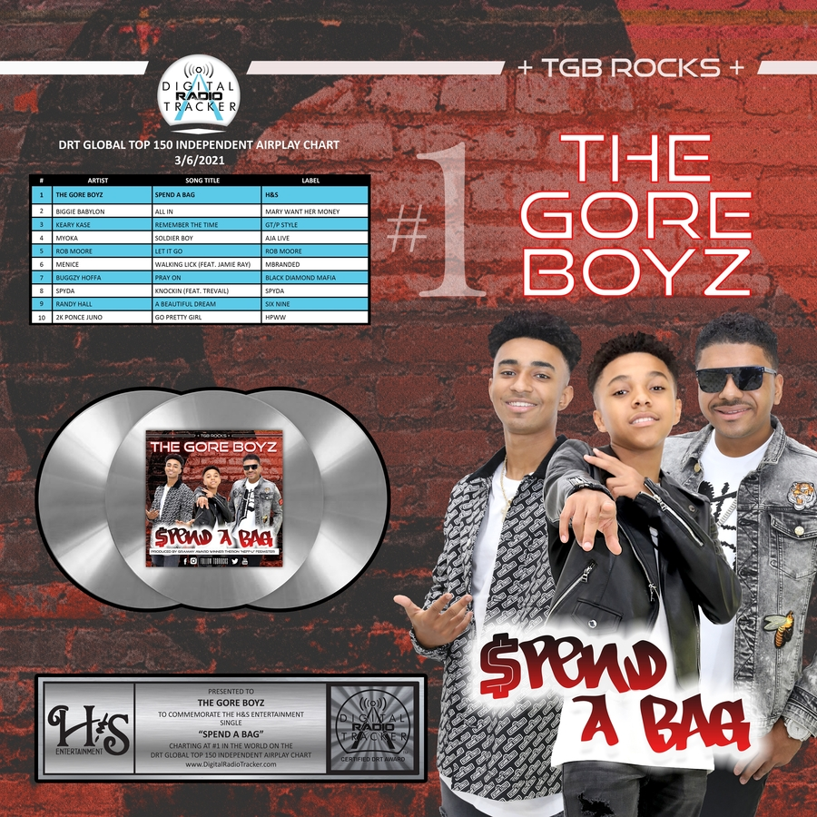 The Gore Boyz (TGB) a New Kind of Pop Artist – Thoughtful, Multi-talented and Confident. Radio Single 'Spend A Bag' Burning Up the Charts, The Gore Boyz (TGB) are in a Position to Re-define the Genre