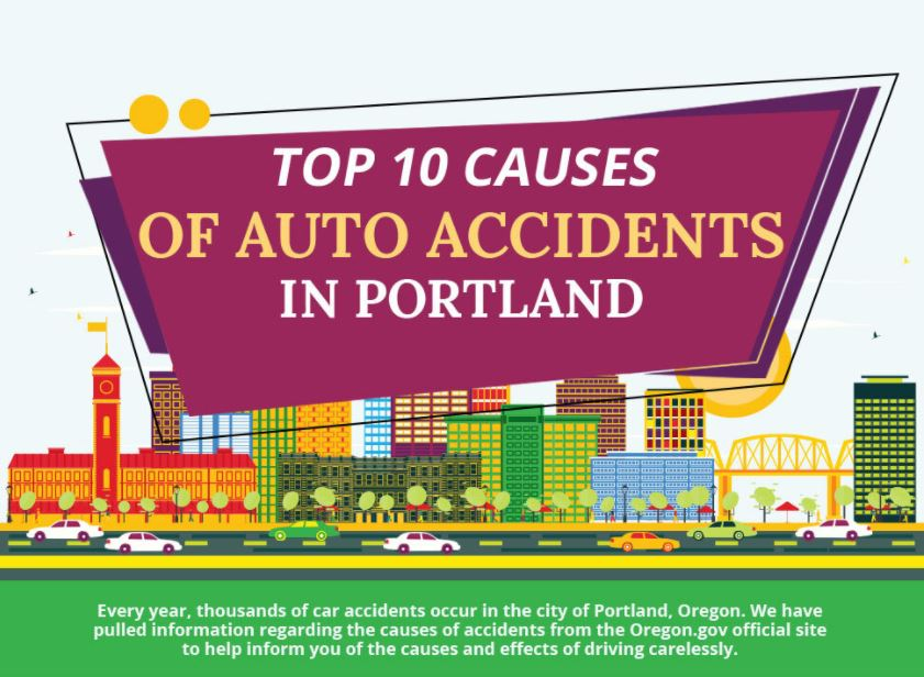 The Top 10 Causes of Auto Accidents In Portland