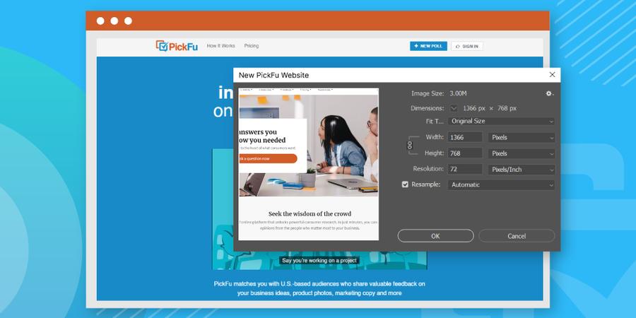 PickFu Announces Launch of New Website