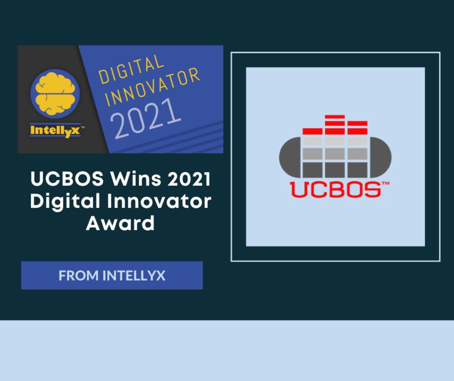 UCBOS Wins the 2021 Digital Innovator Award from Intellyx