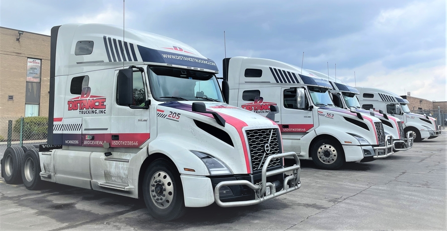 New Marketing Partnership Between Distance Trucking Inc. and 42 North Marketing