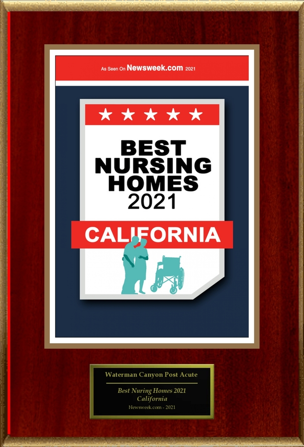 """Waterman Canyon Post Acute Selected For """"Best Nursing Homes 2021: California"""""""