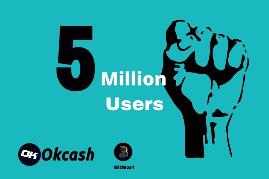 OkCash Listed on BitMart Brings the Platform Closer to User base of 5 Million