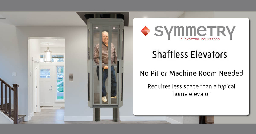 Shaftless Elevator Now Available from Symmetry Elevating Solutions
