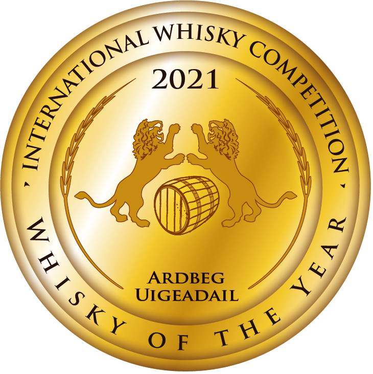 Ardbeg Uigeadail Wins Whisky of The Year at The 2021 International Whisky Competition®