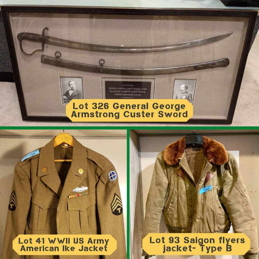 """General George Custer Historic Sword Goes Up for Auction In Canada Hosted By """"The Liquidator"""", Jeff Schwarz"""