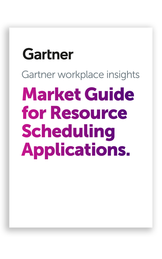 Condeco Group mentioned in 2021 Gartner Market Guide for Resource Scheduling Applications Report