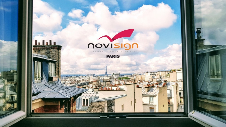 NoviSign Digital Signage Opens New Cutting Edge Office in Nantes, France