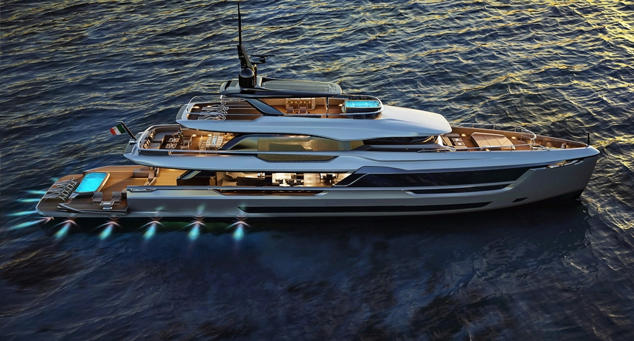 Atlante Mistral 41 Yacht Revealed