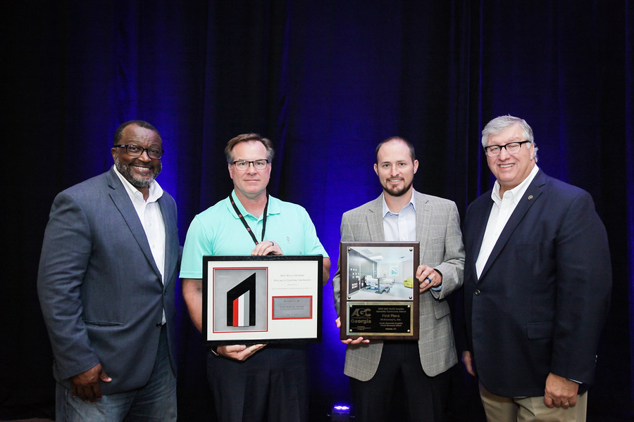 McKenney's Earns 1st Place Honors in 2021 AGC Build Georgia Awards