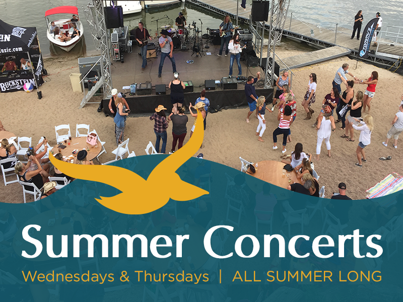 Pelican Bay at Cherry Creek Announces Two Summer Concert Series On the Water