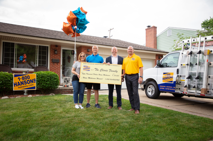 1-800-HANSONS Announces Winner of $50,000 Home Makeover Sweepstakes