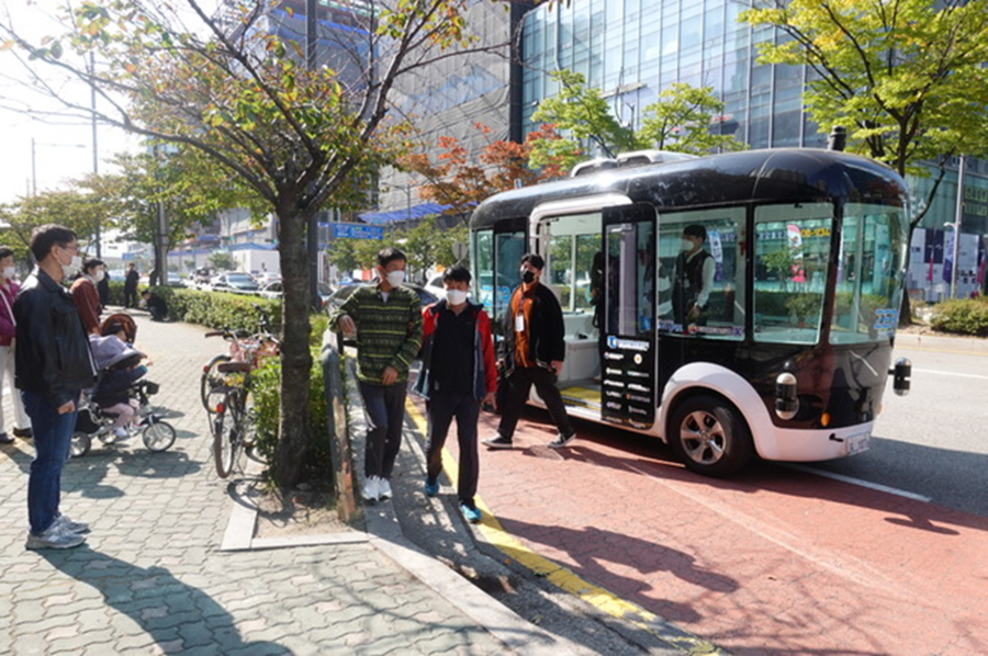 Pangyo Technovalley Designates the Pilot Driving Zone for Autonomous Vehicles