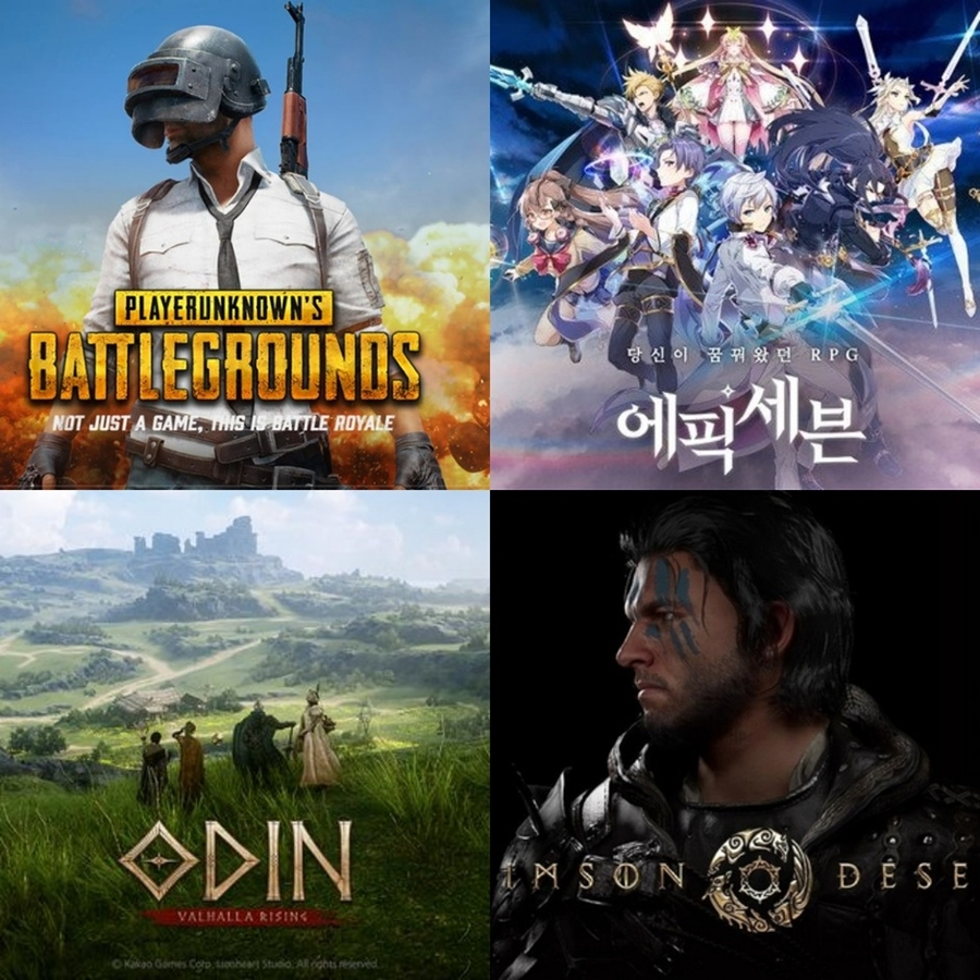 """[Pangyo Game] Grounds for """"3N"""" are Shaking… Krafton, Smilegate, Kakaogames, Pearl Abyss (KSKP) are Quickly Catching Up"""